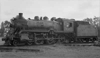 2018.15.N83.6333E--ed wilkommen 116 neg--CP--steam locomotive 4-6-0 D10G 961--location unknown--no date