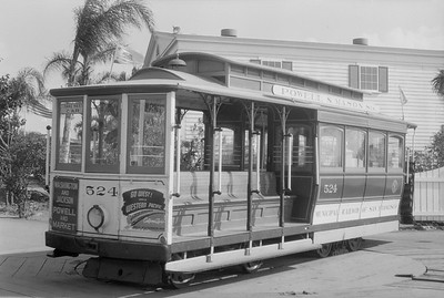 2018.15.N54.6908--ed wilkommen 6x9 neg--Chicago Railroad Fair--San Francisco cable car--Chicago IL--1949 0000