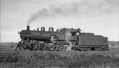 2018.15.N92B.8171--ed wilkommen 116 neg [Stan Mailer]--LS&I--steam locomotive 2-8-0 22 at Cliffs Shaft Mine--Ishpeming MI--1955 1019
