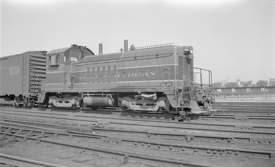 2018.15.N71.5570--ed wilkommen 116 neg--GN--diesel locomotive EMD switcher 108--St Paul MN--1948 0523