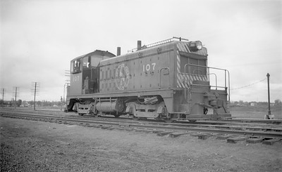 2018.15.N71.5569--ed wilkommen 116 neg--GN--diesel locomotive EMD switcher 107--Fargo ND--1946 0504
