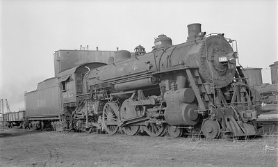 2018.15.N87.6403--ed wilkommen 116 neg--ICRR--steam locomotive 4-6-2 1169--Markham IL--1955 0329