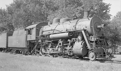 2018.15.N87.6399Y--ed wilkommen 116 neg--ICRR--steam locomotive 2-8-0 902--location unknown--no date