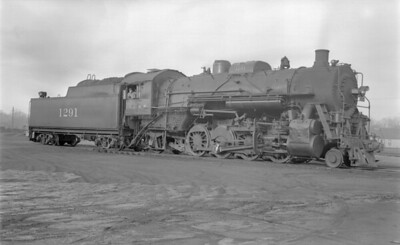 2018.15.N87.6404--ed wilkommen 116 neg--ICRR--steam locomotive 2-8-2 1291--Clinton IL--1953 0202