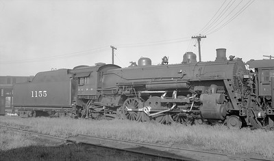 2018.15.N87.6400G--ed wilkommen 116 neg--ICRR--steam locomotive 4-6-2 1155--location unknown--no date