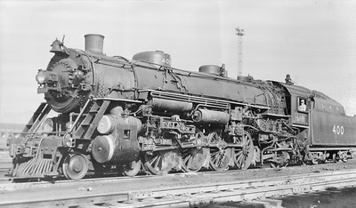 2018.15.N96A.7225--ed wilkommen 116 neg--L&N--steam locomotive 4-8-2 400--location unknown--no date
