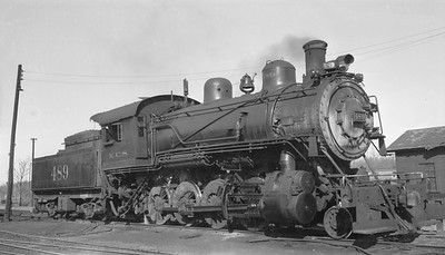 2018.15.N96B.7232--ed wilkommen 116 neg--KCS--steam locomotive 2-8-0 489--Joplin MO--1950 0216