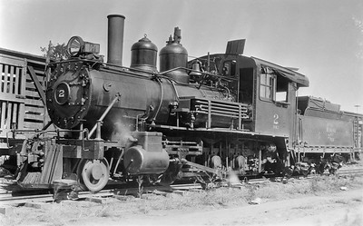 2018.15.L.6965M--ed wilkommen 5x7 COPY neg--CMStP&P--narrow gauge steam locomotive 2-6-0 NM2 2--Bellevue IA--no date