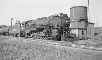 2018.15.N98A.7287--ed wilkommen 116 neg--MP--steam locomotive 2-10-2 1714--Omaha NE--1946 0915