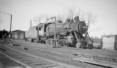 2018.15.N98A.7275--ed wilkommen 116 neg--MP--steam locomotive 2-8-0 100--Lincoln NE--1944 1123