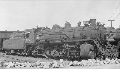 2018.15.N98A.7284C--ed wilkommen 116 neg--MP--steam locomotive 2-8-2 1275--Dupo IL--1953 0905