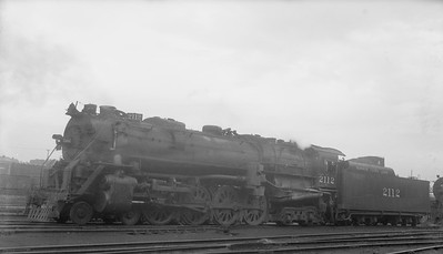 2018.15.N98A.7290--ed wilkommen 116 neg--MP--steam locomotive 4-8-4 2112--location unknown--no date