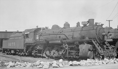 2018.15.N98A.7283D--ed wilkommen 116 neg--MP--steam locomotive 2-8-2 1275--Dupo IL--1953 0905