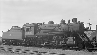 2018.15.N98A.7284A--ed wilkommen 116 neg--MP--steam locomotive 2-8-0 49--location unknown--no date