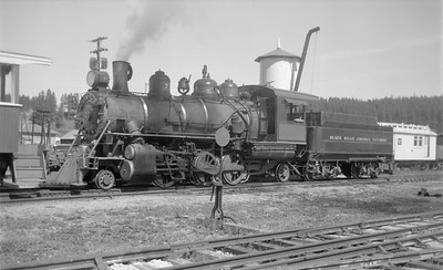 2018.15.N59.1973--ed wilkommen 116 neg--Black Hills Central--steam locomotive 7--Hill City SD--1960s