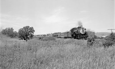 2018.15.N56.1942--ed wilkommen 116 neg--CWM Circus Train with CB&Q 4960 action--location unknown--1965 0000