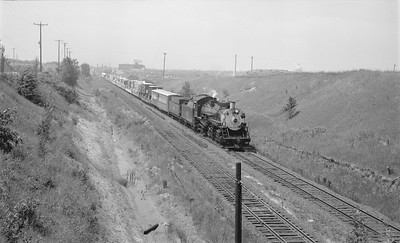 2018.15.N56.1943--ed wilkommen 116 neg--CWM Circus Train with CB&Q 4960 action--location unknown--1965 0000