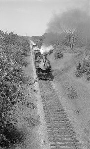 2018.15.N56.1941--ed wilkommen 116 neg--CWM Circus Train with CB&Q 4960 action--location unknown--1965 0000