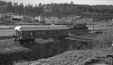 2018.15.N59.1976A--ed wilkommen 116 neg--Black Hills Central--general view of yard and equipment--Hill City SD--c1960s