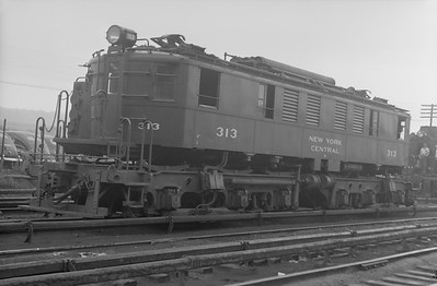 2018.15.N97A.7707--ed wilkommen 6x9 neg--NYC--electric locomotive 313--location unknown--no date