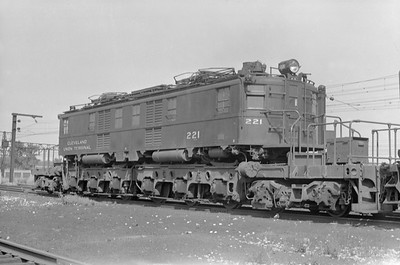 2018.15.N97A.7705--ed wilkommen 6x9 neg--NYC--electric locomotive 221--location unknown--no date