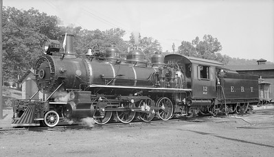 2018.15.N50.1802--ed wilkommen 116 neg--EBT--steam locomotive 2-8-0 12--Rockhill Furnace PA--no date