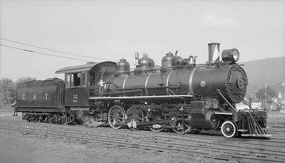 2018.15.N50.1803--ed wilkommen 116 neg--EBT--steam locomotive 2-8-0 12 --Rockhill Furnace PA--no date