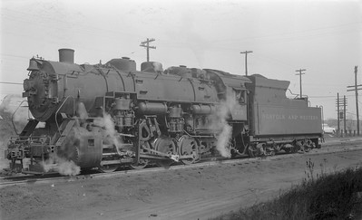 2018.15.N79.6177--ed wilkommen 116 neg--N&W--steam locomotive 0-8-0 S1 270--Roanoke VA--1956 0220