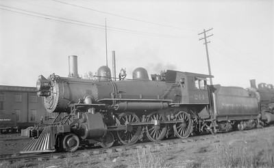 2018.15.N72.5644--ed wilkommen 116 neg--NP--steam locomotive 4-6-0 P-2 244 (dead)--Spokane WA--1939 1105