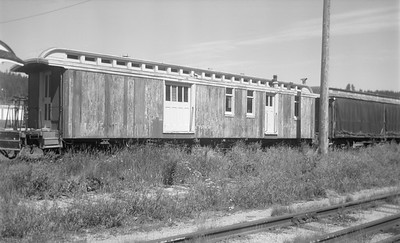 2018.15.N48.1623--ed wilkommen 116 neg--passenger car (baggage)--CB&Q--Hill City SD--no date