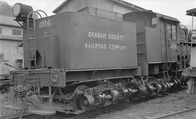 2018.15.N61C.2038--ed wilkommen 116 neg--Graham County--Shay steam locomotive 1926--Robbinsville NC--no date