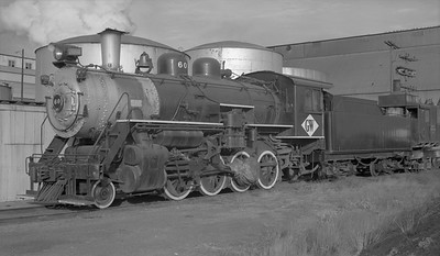2018.15.N64D.8116--ed wilkommen 116 neg--Great Western--steam locomotive 2-8-0 60--Loveland CO--no date