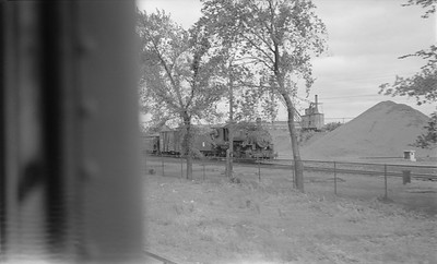 2018.15.N64.2772--ed wilkommen 116 neg--Koppers Co--steam locomotive 0-6-0 353 switching scene--St Paul MN--no date