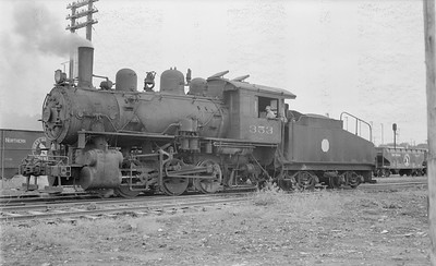 2018.15.N64.2771--ed wilkommen 116 neg--Koppers Co--steam locomotive 0-6-0 353 (ex SOO)--St Paul MN--no date