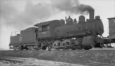 2018.15.N64.2827A--ed wilkommen 116 neg--Midland Electric Coal Corp--steam locomotive 0-6-0 1548--Atkinson IL--no date
