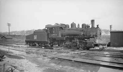 2018.15.N92.7020--ed wilkommen 116 neg--SOO--steam locomotive 0-6-0 B-4 350--St Paul MN--1946 0223