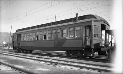 2018.15.N64.2562A--ed wilkommen 116 neg--Butte Anaconda & Pacific--wooden coach 11--Rocker MT--no date