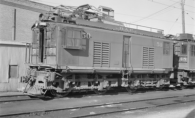 2018 15 N64 2561--ed wilkommen 116 neg--Butte Anaconda & Pacific--electric locomotive 50--Rocker MT--1968 0800