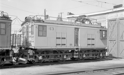 2018 15 N64 2557--ed wilkommen 116 neg--Butte Anaconda & Pacific--electric locomotive 43--Rocker MT--1968 0800