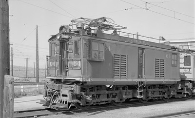 2018 15 N64 2558--ed wilkommen 116 neg--Butte Anaconda & Pacific--electric locomotive 64--Rocker MT--1968 0800