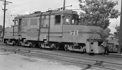 2018.15.N64.2725E--ed wilkommen 116 neg--IT--electric locomotive 71--location unknown--no date