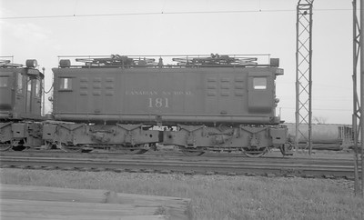 2018.15.N58.1958--ed wilkommen 116 neg--CN--electric locomotive 181--location unknown--1960s