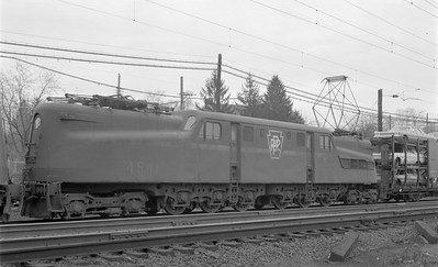 2018.15.N58.1966--ed wilkommen 116 neg--PRR--electric locomotive 4841--location unknown--1960s