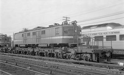 2018.15.N58.1961--ed wilkommen 116 neg--NYC--electric locomotive 222--location unknown--1960s