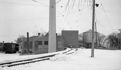 2018.15.N64.8819--ed wilkommen 116 neg--Municipality of East Troy--scene of United Milk Products industry--East Troy WI--c1970