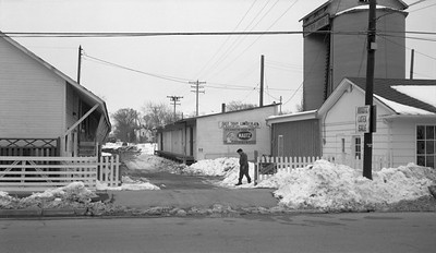 2018.15.N64.8814--ed wilkommen 116 neg--Municipality of East Troy--scene of lumberyard industry--East Troy WI--c1970