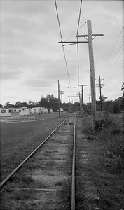 2018.15.N64.8271--ed wilkommen 116 neg--Municipality of East Troy--view of right-of-way and tracks--East Troy WI--c1970 0000