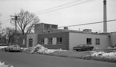 2018.15.N64.8817--ed wilkommen 116 neg--Municipality of East Troy--scene of industry--East Troy WI--c1970