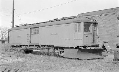 2018.15.N99A.2867--ed wilkommen 116 neg--CNS&M--electric snowplow express motor 231--North Chicago IL (Pettibone Yard)--1956 0414