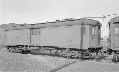 2018.15.N99A.2869--ed wilkommen 116 neg--CNS&M--electric express motor 235--North Chicago IL (Pettibone Yard)--1956 0414